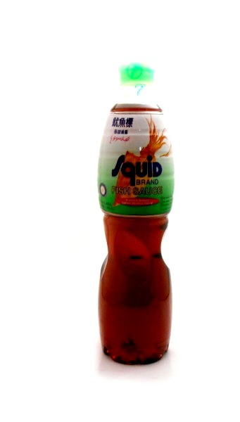 Thai fish sauce by squid buy online at the asian cookshop for Squid brand fish sauce